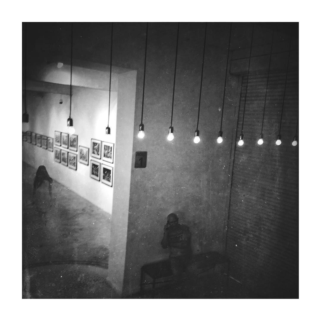 Friendly ghost: Light bulbs still on 🌬💡