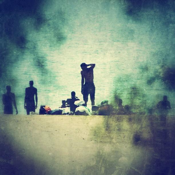 Dead Sea Silhouettes