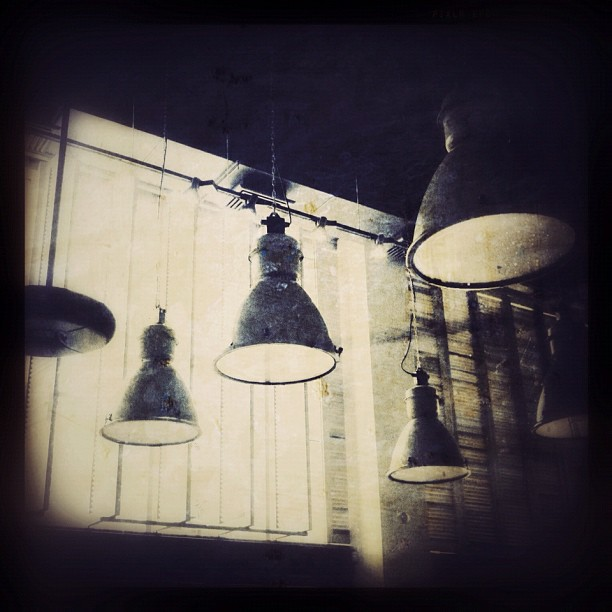 I wish the atmosphere at the restaurant would have been like my edit...