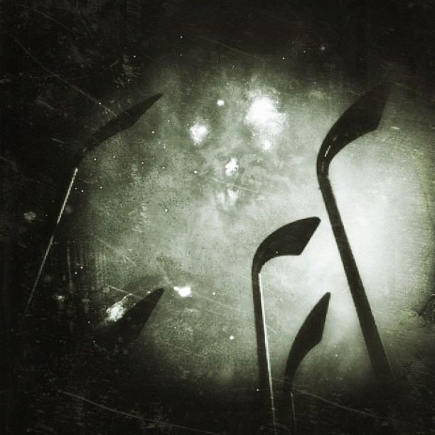 Abstract field of Scythes