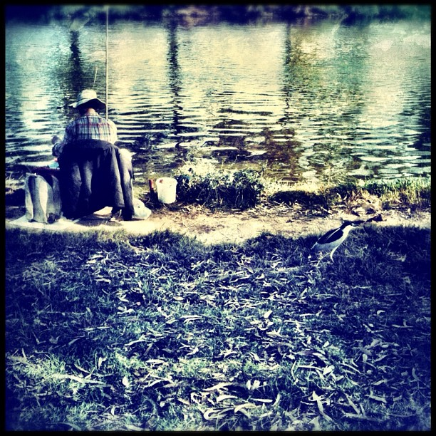 Going fishing, my friends