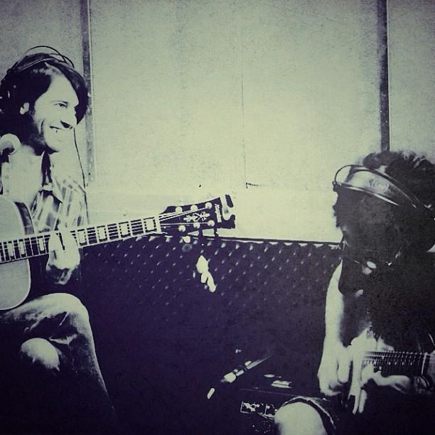 Lunacidal Tendencies - Live session in Radio GLZ with Yoav Kutner. Guitars: Geva Alon & Uzi Ramirez.