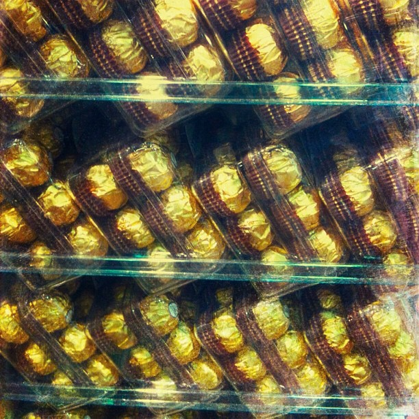 Ferrero Rocher. The most overrated chocolate in the world (or at least in Israel)