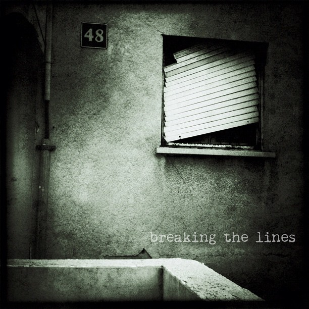 Breaking the lines...