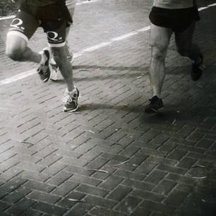 """If you run, you..."