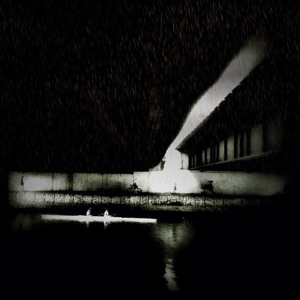 Rain under the bridge