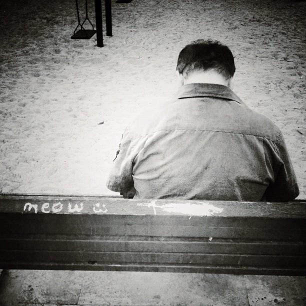Asleep at the bench...